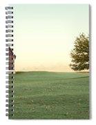 A Wisconsin Postcard Spiral Notebook