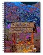 A Wishing Well Pop Art Spiral Notebook