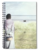 A Woman And The Sea Spiral Notebook