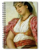 A Woman From Algiers Spiral Notebook