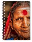 A Woman Of Faith Spiral Notebook