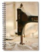 A Womans Work Spiral Notebook