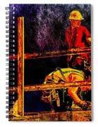 A Work Of Art  Spiral Notebook