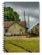 A Workhorse At The Madison Station Spiral Notebook