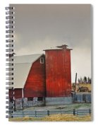 A Working Farm Spiral Notebook