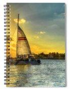 A Yacht Of Fun Spiral Notebook