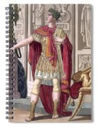 A Young Emperor In His Imperial Armour Spiral Notebook