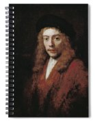 A Young Man Perhaps The Artist's Son Titus Spiral Notebook