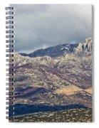 A1 Highway Croatia Velebit Mountain Road Spiral Notebook