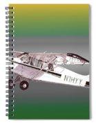 A1a Husky Aviat Airplane Spiral Notebook