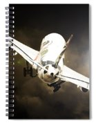 A340 Takeoff Spiral Notebook