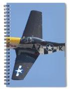 A7k Mustang Spiral Notebook