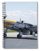 A7k Taxiing Spiral Notebook