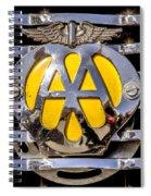 Aa Mu Emblem Spiral Notebook