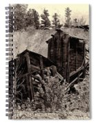 Abandon Montana Mine Spiral Notebook