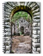 Abandoned Bath House  Ver 2 Spiral Notebook