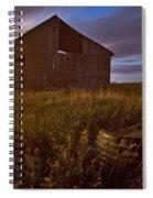 Abandoned Building, Saskatchewans Spiral Notebook