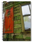 Abandoned Cabin Elkmont - Coming Down Clover Spiral Notebook