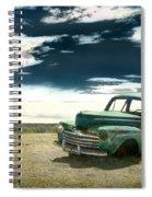 Abandoned Car Spiral Notebook