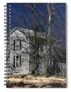 Abandoned Except For Ghosts Spiral Notebook