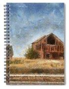 Abandoned Farm 01 Photo Art Spiral Notebook