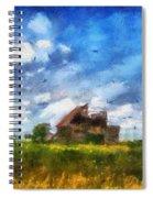 Abandoned Farm 03 Photo Art Spiral Notebook