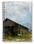 Abandoned Farm Home - Kansas Spiral Notebook