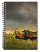 Abandoned Farm Truck Spiral Notebook