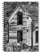 Abandoned Farmhouse - Alstown - Washington - May 2013 Spiral Notebook