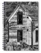 Abandoned Farmhouse - Alstown - Washington - May 2013 Spiral Notebook