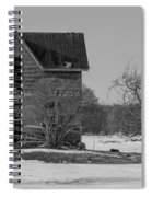 Abandoned Farmhouse Spiral Notebook