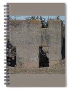 Abandoned Foundation 1 Spiral Notebook