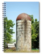 Abandoned Granary Spiral Notebook