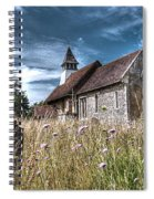 Abandoned Grave In The Churchyard Spiral Notebook