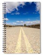 Abandoned Highway Spiral Notebook