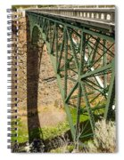 Abandoned Highway Vertical Spiral Notebook
