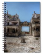Abandoned Holidays Spiral Notebook