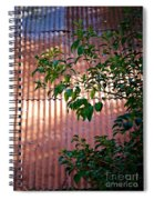 Abandoned Home Abstract Spiral Notebook