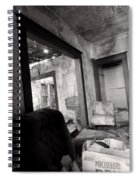 Abandoned Homestead Series Decay 2 Spiral Notebook