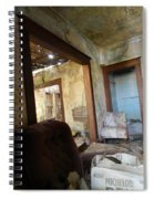 Abandoned Homestead Series Decay Spiral Notebook