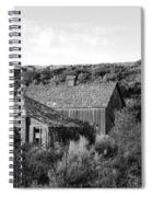Abandoned House And Barn - Alstown - Washington - May 2013 Spiral Notebook