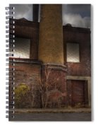Abandoned In Hdr 2 Spiral Notebook