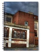 Abandoned In Hdr Spiral Notebook