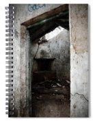 Abandoned Little House 1 Spiral Notebook