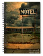 Abandoned Motel Spiral Notebook