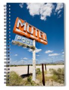 Abandoned Motel Spiral Notebook