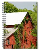 Abandoned Old Barn Spiral Notebook