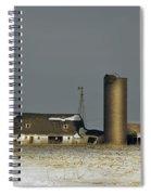 Abandoned On Keystone Spiral Notebook