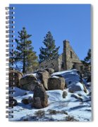 Abandoned On The Mountain Spiral Notebook
