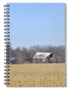 Abandoned Panoramic Spiral Notebook